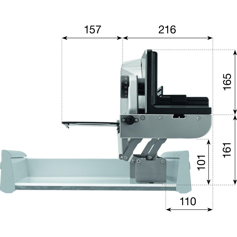 ritter metall einbau allesschneider aes 62 sr. Black Bedroom Furniture Sets. Home Design Ideas
