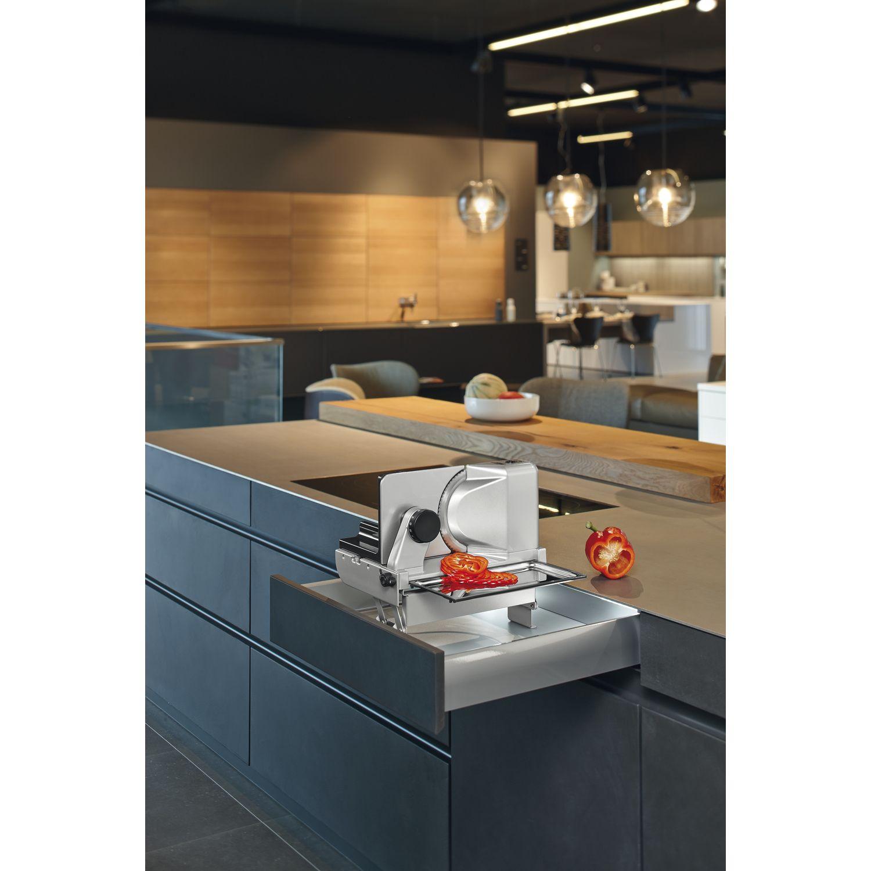 ritter metall einbau allesschneider aes 62 sr silbermetallic rechts 4004822542003 ebay. Black Bedroom Furniture Sets. Home Design Ideas