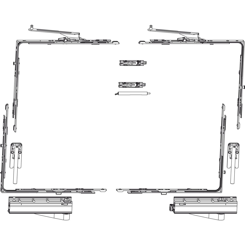 MACO SKB-Z Grundkarton, Schema A, 160 kg, Versatz 13 mm, rechts ...